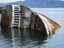Mediterranean Sky shipwreck Royalty Free Stock Photos