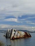 Mediterranean Sky shipwreck Stock Image