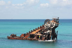 Shipwreck Moreton island Royalty Free Stock Images
