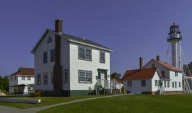Shipwreck Museum. Whitefish point lighthouse and shipwreck museum. upper michigan Stock Image