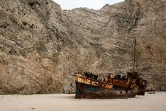The shipwreck Royalty Free Stock Photo