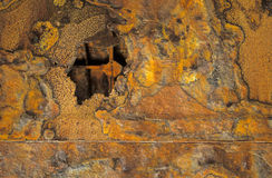 Shipwreck no.1 da oxidação Fotos de Stock