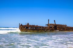 Free Shipwreck On Fraser Island Royalty Free Stock Image - 162854886