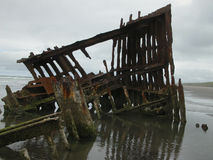 Shipwreck of Peter Iredale Royalty Free Stock Image