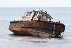 Shipwreck in Portobelo Royalty Free Stock Photography
