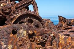 Shipwreck rdza zdjęcie stock