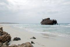 The shipwreck of Santa Maria in Boa Vista Stock Photography