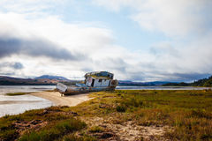 Shipwreck. S at Point Reyes National Seashore Royalty Free Stock Photo
