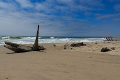 Shipwreck from Skeleton coast Stock Image