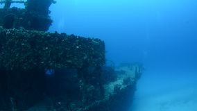 Shipwreck stock video footage