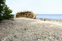 Shipwreck Swiks Stock Photo
