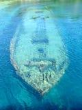 Shipwreck in Tobermory Ontario Stock Photo