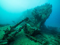 Shipwreck of the Ulysses Stock Images