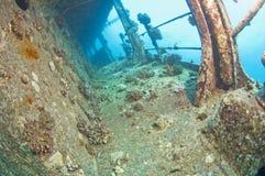 Shipwreck underwater Obrazy Royalty Free