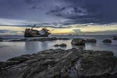 shipwrecked Imagem de Stock Royalty Free