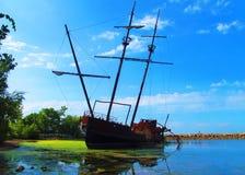 shipwrecked Fotos de Stock Royalty Free