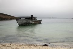 Free Shipwrecked Boat In Coffin&x27;s Harbour Stock Photos - 142465463
