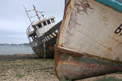 Shipwrecks Fotografia de Stock Royalty Free