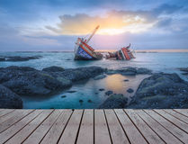 shipwrecks Foto de Stock Royalty Free