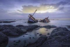 Shipwrecks Royalty Free Stock Photo
