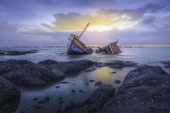 Shipwrecks Royalty Free Stock Photos