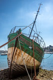 Shipwrecks in Brittany Royalty Free Stock Images