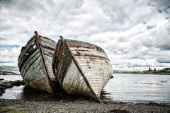 Shipwrecks Royalty Free Stock Images