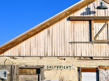 Shipwright Building Royalty Free Stock Photography