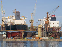 Shipyard Stock Image