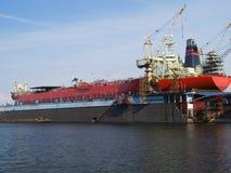 Shipyard Royalty Free Stock Photo