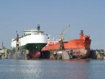 Shipyard Royalty Free Stock Photos