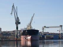 Shipyard Stock Image