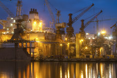 Shipyard Royalty Free Stock Photography