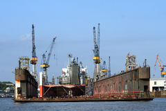 Shipyard Royalty Free Stock Image