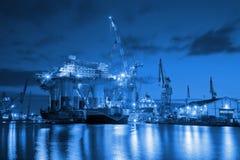 Free Shipyard Stock Images - 55970564