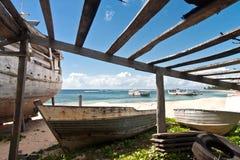Shipyard Antalaha Royalty Free Stock Photo