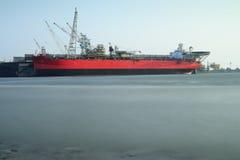 Shipyard cargo Stock Image