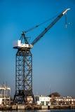 Shipyard Crane Royalty Free Stock Photography