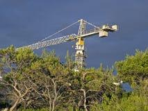 Shipyard crane Stock Image