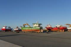 Shipyard. Royalty Free Stock Images