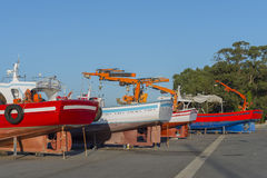 Shipyard. Stock Photography