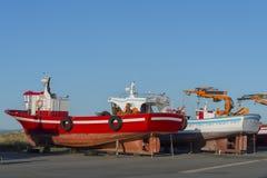 Shipyard. Royalty Free Stock Photo
