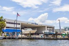 Shipyard in Fort Lauderdale Stock Image