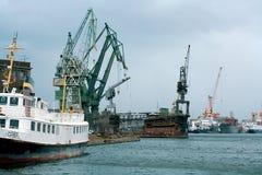 Shipyard in Gdansk. stock photos