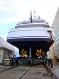 SHIPYARD - La Ciotat - France Stock Photos