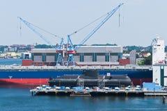Shipyard Stock Photography