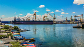 The shipyard Mangalia Romania Royalty Free Stock Images
