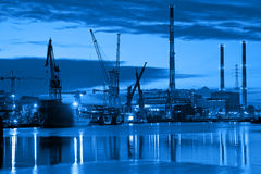 Shipyard Royalty Free Stock Photo