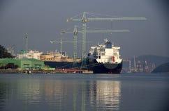 Free Shipyard On Island Stock Photography - 35398132