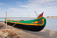 Shipyard of outrigger canoe Stock Images